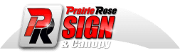 Prairie Rose Sign & Canopy